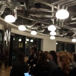 """Women Talk Tech"" @ WeWork Moorgate, London Nov 2015"